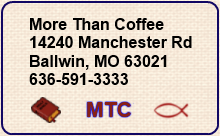 More Than Coffee location and phone